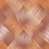 Il modello diagonale senza cuciture con il lerciume ha barrato gli elementi quadrati nei colori beige, marroni, bianchi royalty illustrazione gratis