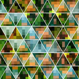 Il modello geometrico Fotografia Stock