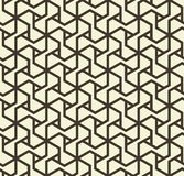 Il modello geometrico astratto senza cuciture con il triangolo allinea in bianco e nero - vector eps8 Fotografia Stock Libera da Diritti