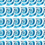 Il modello insolito delle spirali Fotografie Stock