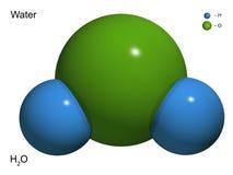 Il modello isolato 3D di acqua illustrazione vettoriale