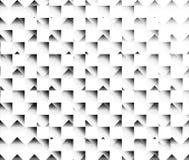 Il modello ordinato del tono in bianco e nero di armonia dell'immagine illustrazione vettoriale