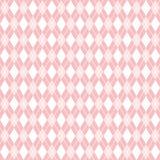 Il modello rosa senza cuciture del argyle, fondo del argyle, vector la carta digitale Immagine Stock Libera da Diritti