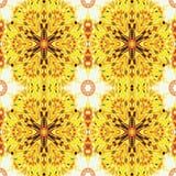 Il modello senza cuciture della foto dei fiori sottrae l'ornamento floreale Fotografia Stock
