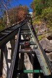 Il modo alla parte superiore della montagna fotografia stock libera da diritti