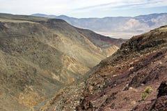 Il modo a Death Valley Fotografia Stock Libera da Diritti