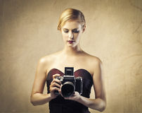 Il modo fotografa il modo Fotografie Stock