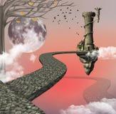 Il modo lungo per la fantasia illustrazione vettoriale