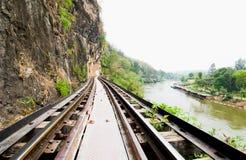 Il modo morto della ferrovia Immagini Stock Libere da Diritti