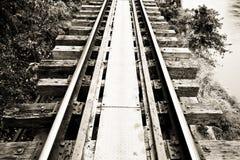 Il modo morto della ferrovia Fotografia Stock Libera da Diritti