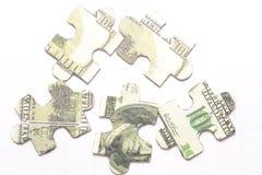 Il modo a soldi Immagine Stock