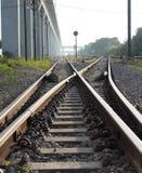 Il modo trasmette la ferrovia Immagine Stock Libera da Diritti