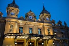 Il Monaco Monte Carlo Casino Fotografie Stock