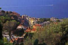 Il Monaco, a sud della Francia Fotografie Stock Libere da Diritti