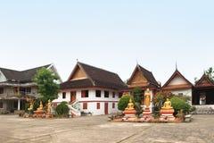 Il monastero buddista in Luang Prabang (Laos) fotografia stock libera da diritti