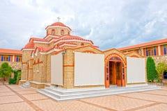 Il monastero dei mandras di Gorgoepikoos del vergine Fotografie Stock Libere da Diritti