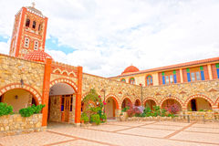 Il monastero dei mandras di Gorgoepikoos del vergine Fotografia Stock Libera da Diritti