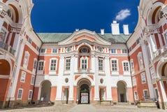 Il monastero del benedettino in Broumov Fotografie Stock