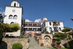 Il monastero dell'agrifoglio della gola del san dentro esclude Immagine Stock