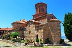 Il monastero della st Naum, Ocrida, Macedonia Immagini Stock