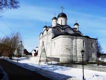 Il monastero delle donne vladychny di Serpuchov Un luogo santo ha visitato da molti turisti immagine stock