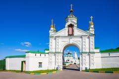 Il monastero di ascensione di Pechersky fotografie stock libere da diritti