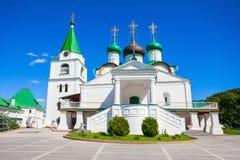 Il monastero di ascensione di Pechersky fotografia stock libera da diritti