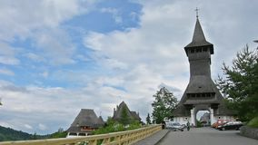 Il monastero di Barsana, Romania archivi video