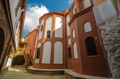 Il monastero di Dionisiou Fotografia Stock Libera da Diritti