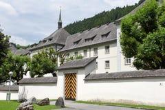 Il monastero di Engelberg sulle alpi svizzere Immagine Stock Libera da Diritti