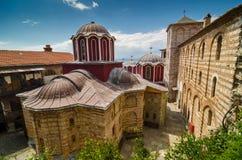 Il monastero di Grigoriou Fotografia Stock Libera da Diritti
