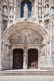 Il monastero di Jeronimos Immagine Stock Libera da Diritti