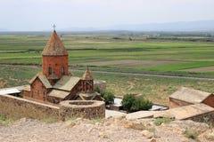Il monastero di Khor Virap Immagini Stock Libere da Diritti
