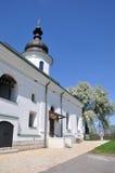 Il monastero di medio evo in Nescheriv immagine stock libera da diritti