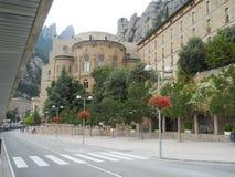 Il monastero di Montserrat Immagini Stock