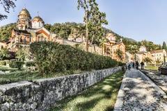 Il monastero di nuovo Athos Fotografia Stock Libera da Diritti