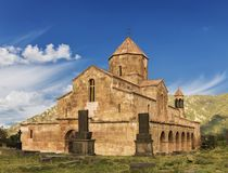 Il monastero di Odzun è un monastero armeno del secolo VI immagine stock