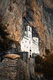 Il monastero di Ostrog fotografia stock libera da diritti