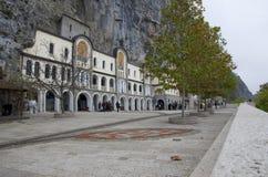 Il monastero di Ostrog, Montenegro immagine stock libera da diritti