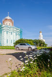 Il monastero di St George (Yuriev) in Veliky Novgorod, Russia Immagine Stock