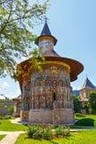 Il monastero di Sucevita, Romania Fotografia Stock Libera da Diritti