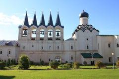 Il monastero di Tikhvin Immagini Stock Libere da Diritti