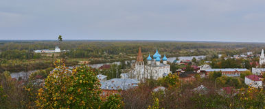 Il monastero di una femmina di Znamensky Fotografie Stock Libere da Diritti