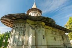 Il monastero di Voronet fotografie stock