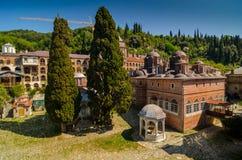 Il monastero di Zografou Immagini Stock Libere da Diritti