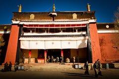 Il monastero Gyantse Tibet di Palkhor Immagini Stock Libere da Diritti