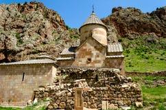 Il monastero Noravank Fotografia Stock Libera da Diritti