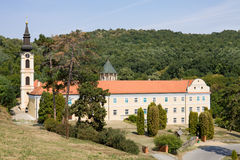 Il monastero ortodosso Novo Hopovo (nuovo Hopovo) dentro immagine stock libera da diritti