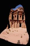 Il monastero, PETRA, Giordano Fotografia Stock
