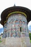 Il monastero Sucevita Fotografia Stock
